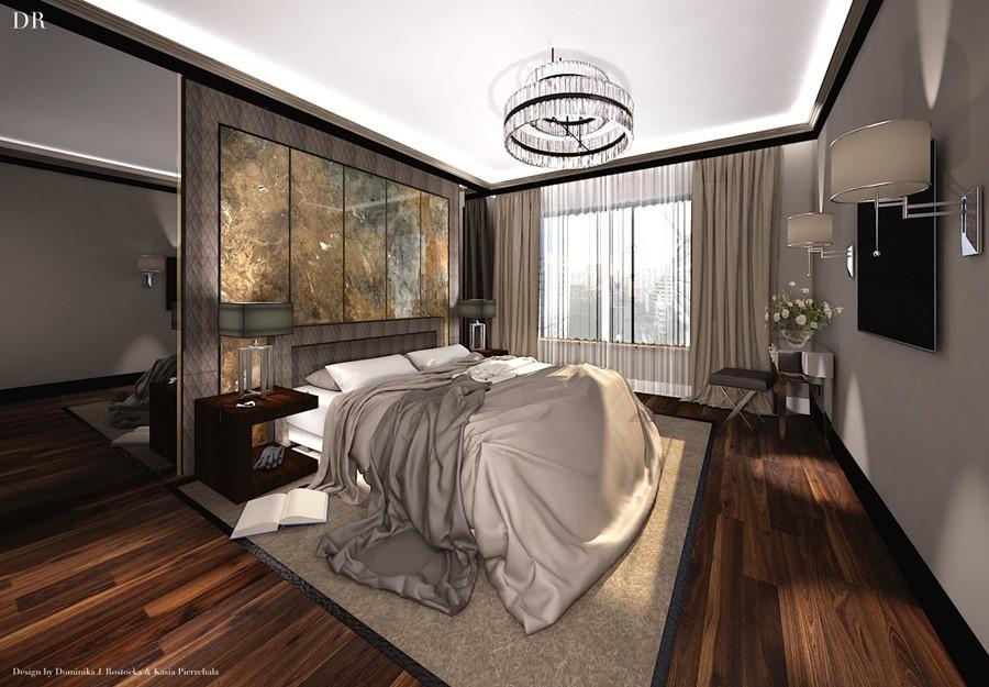Jaki dywan do ciemnej podłogi supialnia
