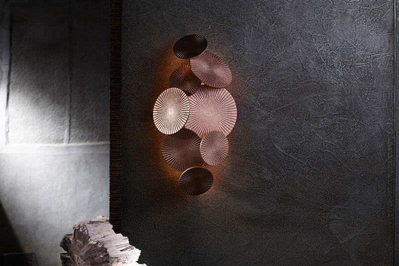 Lampy jako dzieła sztuki Cosmos Wall Light