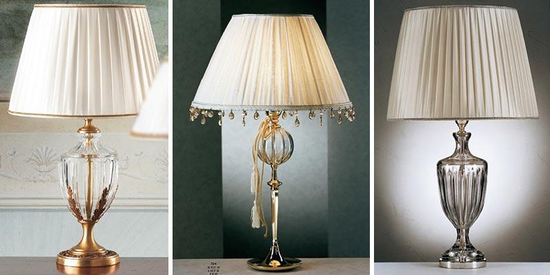 Lampy jako dzieła sztuki Il Paralme Marina klasyczne oświetlenie