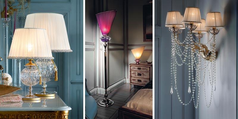 Lampy jako dzieła sztuki Il Paralme Marina oświetlenie