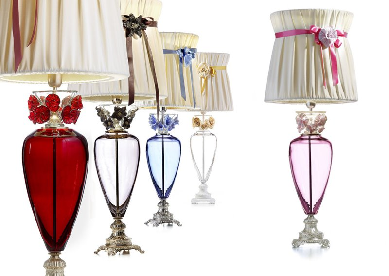 Lampy jako dzieła sztuki Ill Paralume Marina