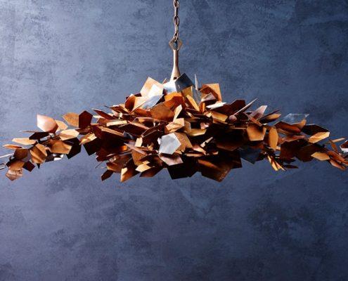 Lampy jako dzieła sztuki Porta Romana Elemental wide