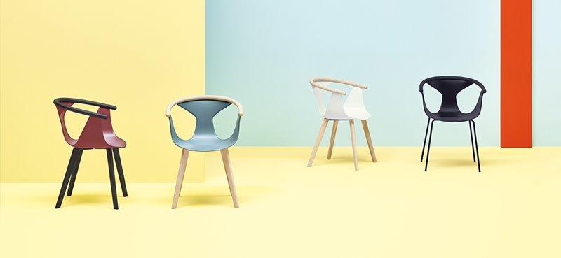 Designerskie krzesła Pedrali krzesło Fox
