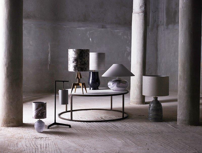 Porta Romana Cosmos lampy stołowe
