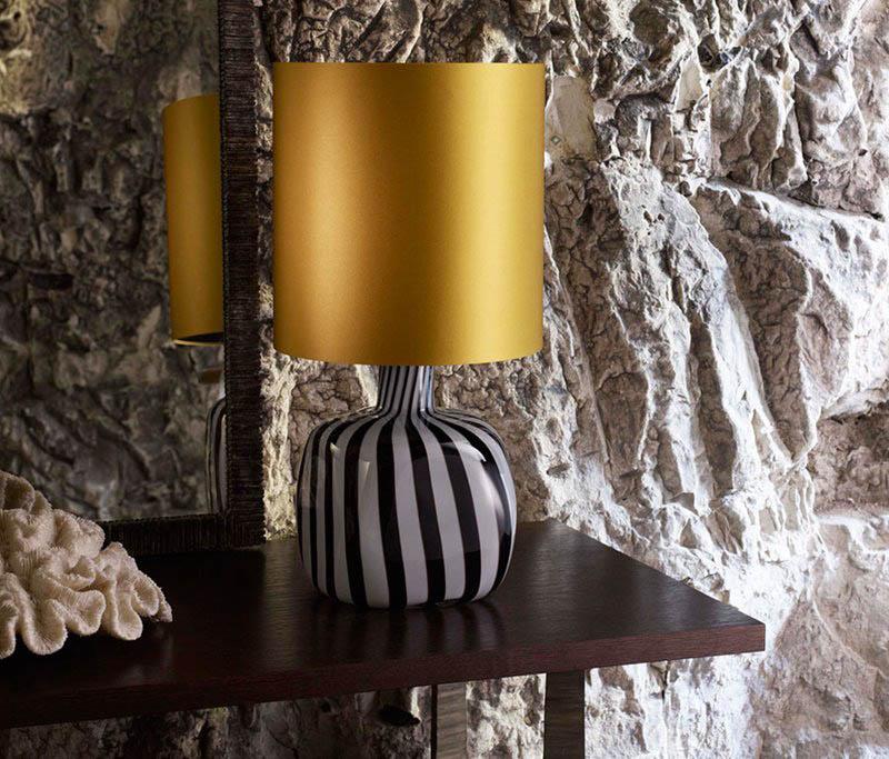 Porta Romana Nomad Jazz Lamp HoneyShade