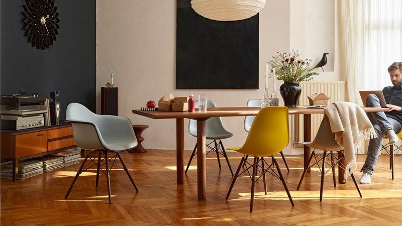 Designerskie krzesła krzesło Eames DAW i DSW
