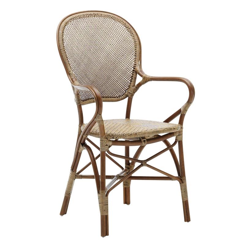 Krzesło z podłokietnikami Rossini Originals  Sika