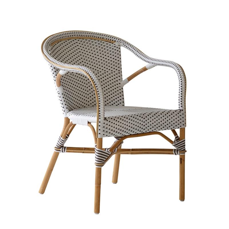 Krzesło z podłokietnikami Madeleine Affaire  Sika
