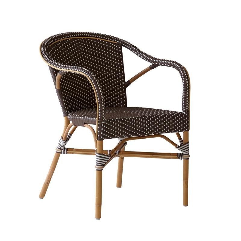Krzesło z podłokietnikami Madeleine Affaire  Sika 1