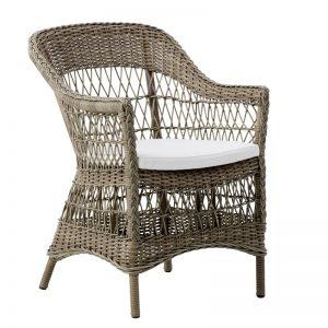 Klasyczne krzesło ogrodowe Charlot Georgia Garden  Sika