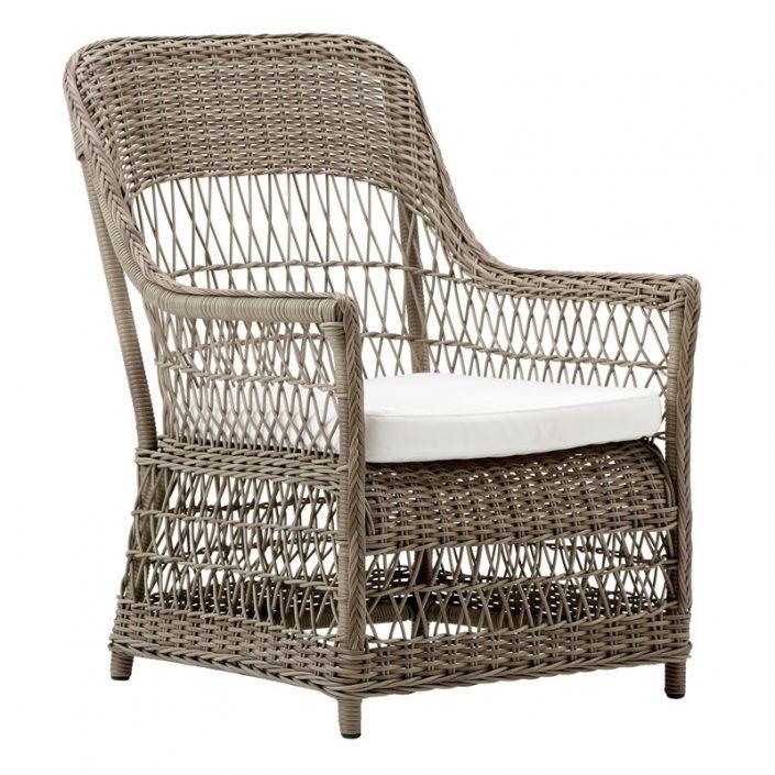 Klasyczne krzesło ogrodowe z podłokietnikami Dawn Georgia Garden  Sika