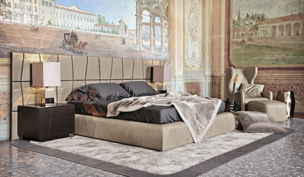 Dywan do sypialni w eklektycznym stylu