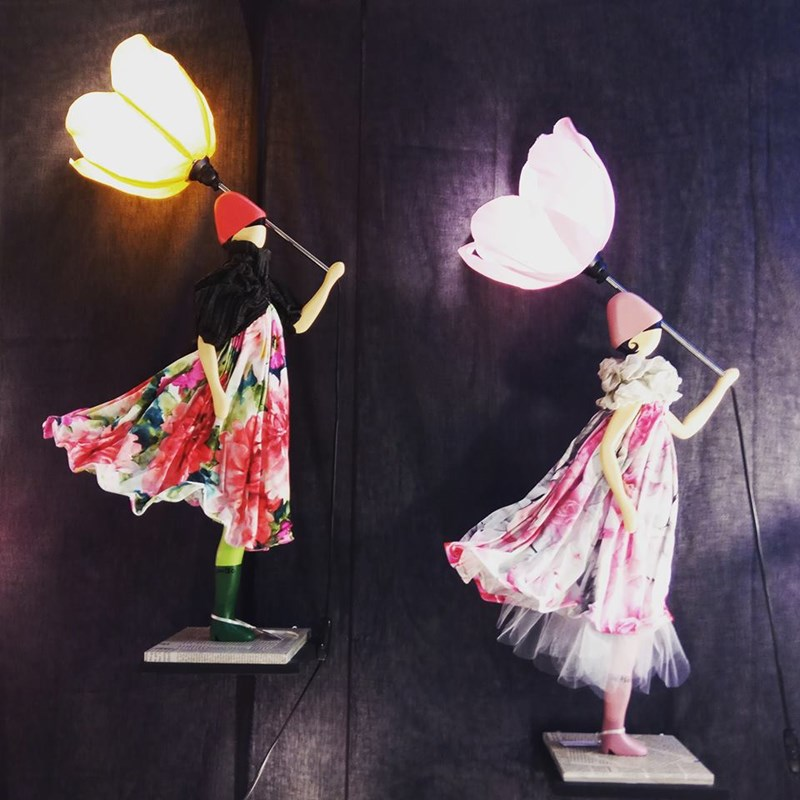 SKITSO lampy dziewczynki