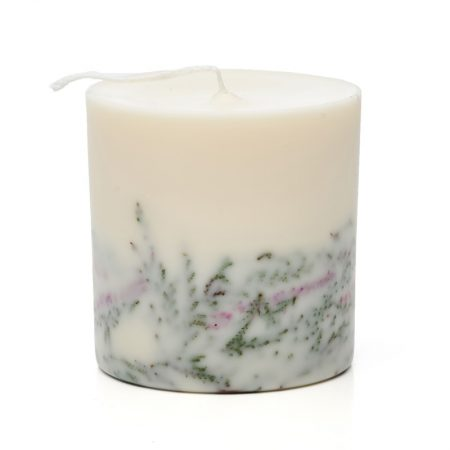 Dekoracyjna świeca zapachowa z soi Wrzos 10307