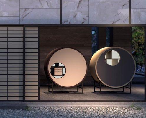 Ekskluzywne meble orientalne z nutą nowoczesności Chi Wing Lo