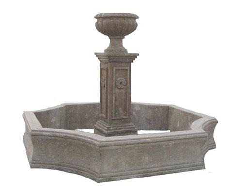Klasyczna fontanna ogrodowa