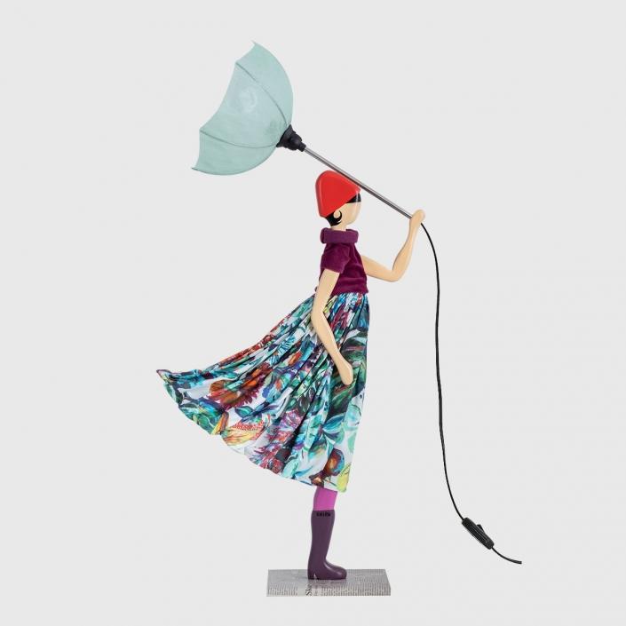 Lampka dziewczynka dla nastolatki Iolanthi Skitso