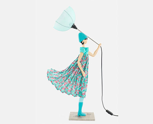 Lampki dziewczynki