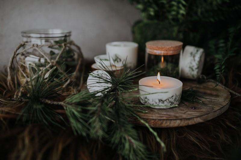 Naturalne sojowe świece zapachowe