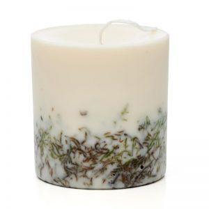 Ozdobna świeca zapachowa z soi Mech