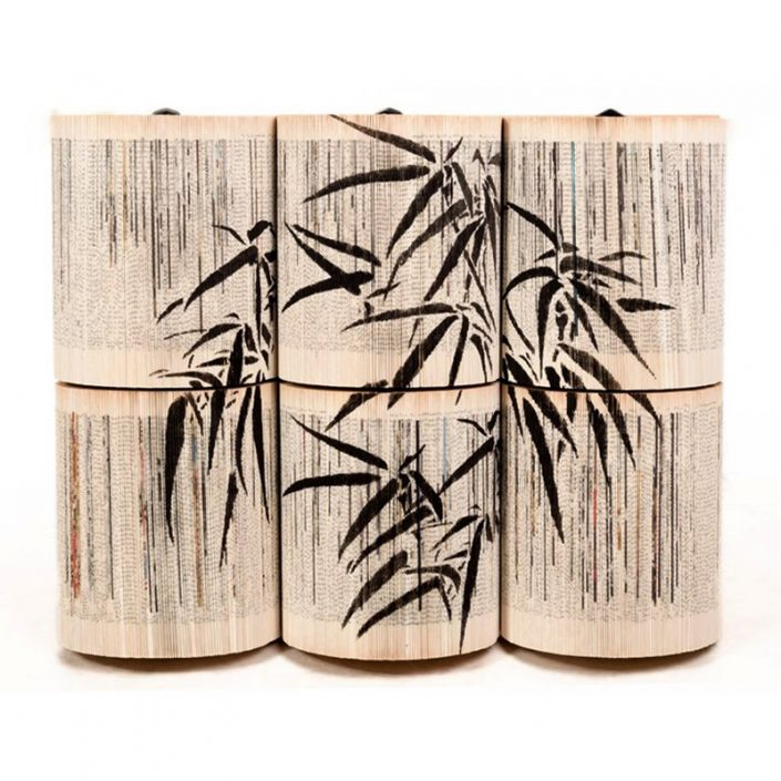 Rzeźba książka Crizu Bamboo Black