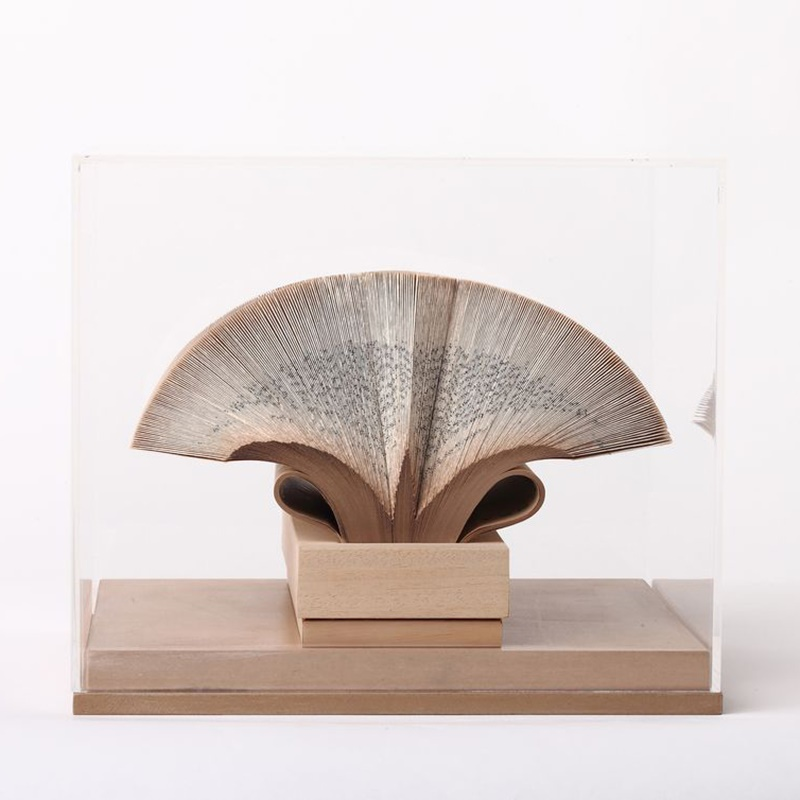 Papierowa rzeźba książka Crizu Wig Diamond