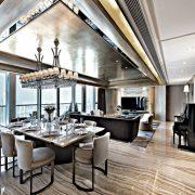 Azjatyckie wnętrza - 39 Conduit Road by Danny Chiu Interior Designs Property Award Asia Pacific 2018