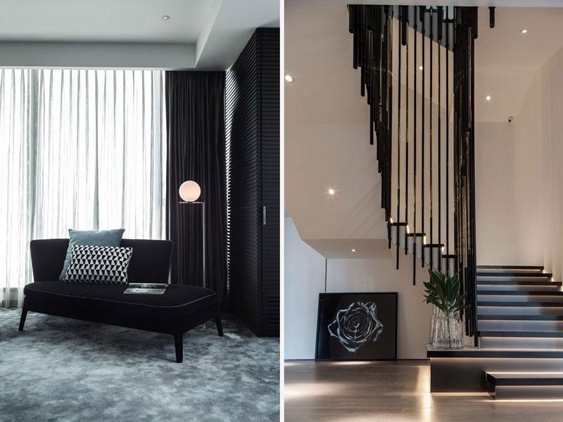 Azjatyckie wnętrza - H Residence Macau autorstwa The Good Studio Limited Property Award Asia Pacific 2018
