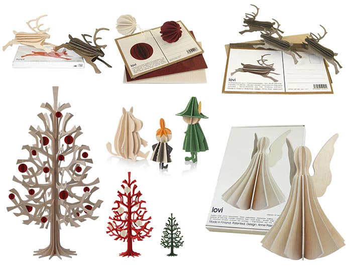 Oryginalne kartki świąteczne LOVI
