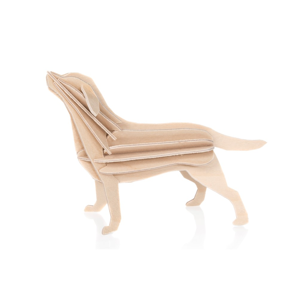 Pocztówka 3D pies Labrador 15 cm Lovi Oy