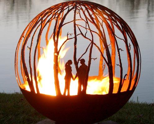 Romantyczne paleniska The Fire Pit Gallery