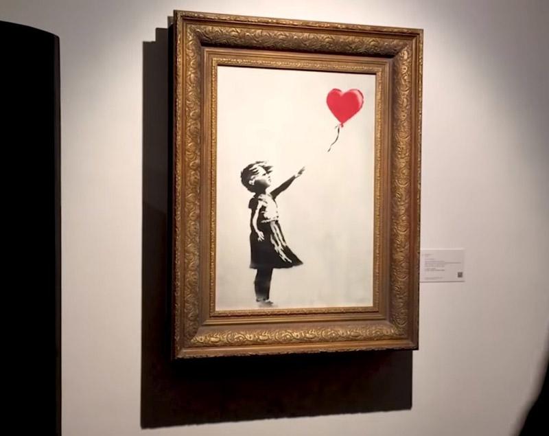 Banksy Dziewczynka z Balonem