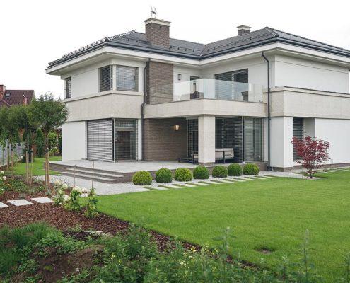 Dwupoziomowy dom wolnostojący