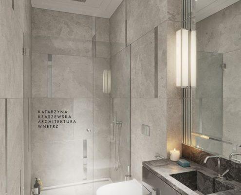 Elegancka toaleta Art deco