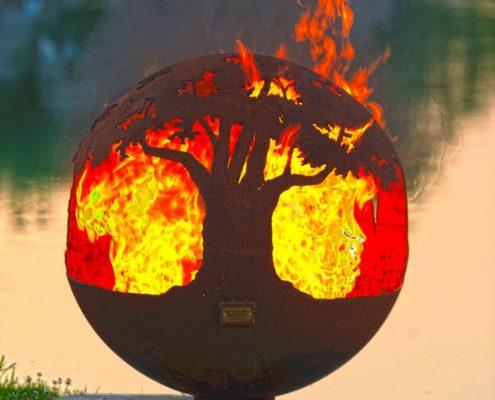 Oryginalne palenisko ogrodowe Tree of Life THE FIRE PIT GALLERY