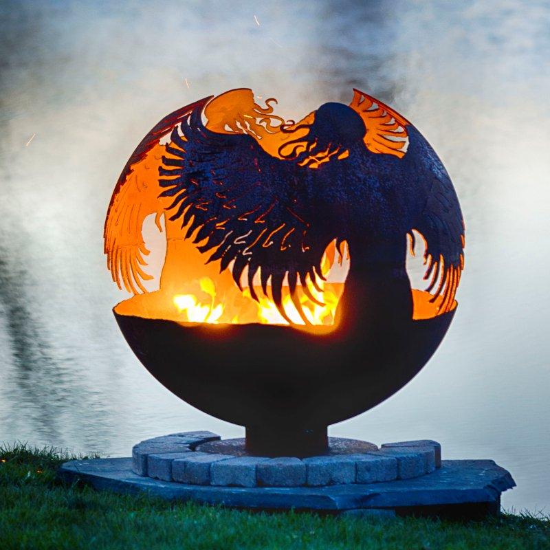 Palenisko ogrodowe Anioł Hidden Angel THE FIRE PIT GALLERY