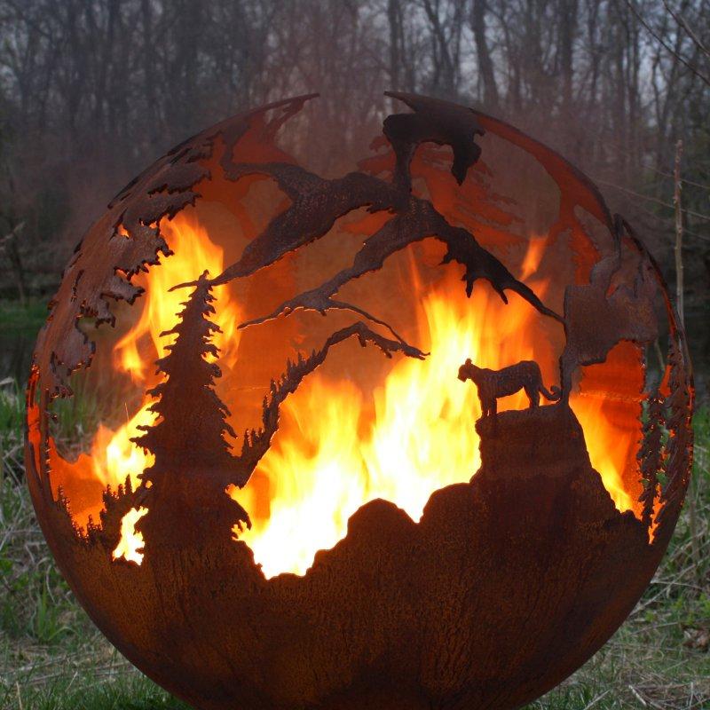 Palenisko ogrodowe Krajobraz High Mountain THE FIRE PIT GALLERY