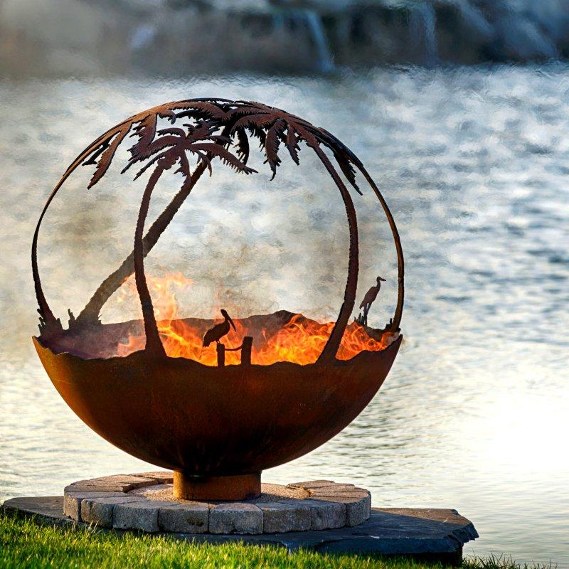 Palenisko ogrodowe Wyspa Paradise THE FIRE PIT GALLERY