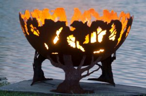 Palenisko ogrodowe misa Forest THE FIRE PIT GALLERY