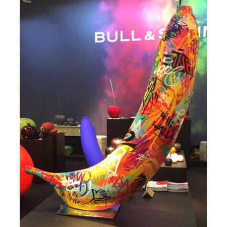 Rzeźba Banan Bull and Stein