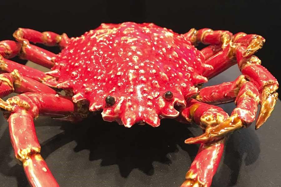 Rzeźba krab pajęczy Bull and Stein