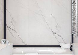 Łazienka z wanną w marmurze