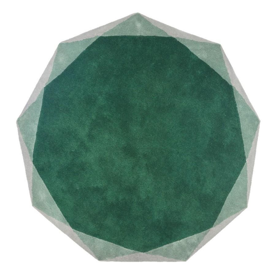 Heksagonalny dywan Stella Scarlet Splendour