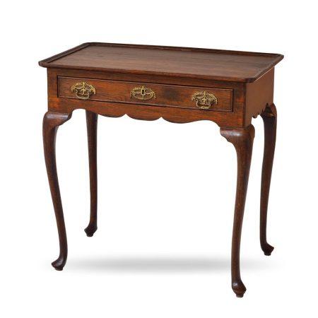 Holenderski, klasyczny stolik nocny Vintage