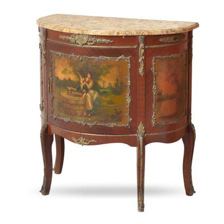 Klasyczna szafka w 18-o wiecznym stylu Ludwika XV-go