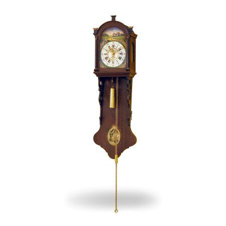 Klasyczny zegar w 19-o wiecznym stylu fryzyjskim
