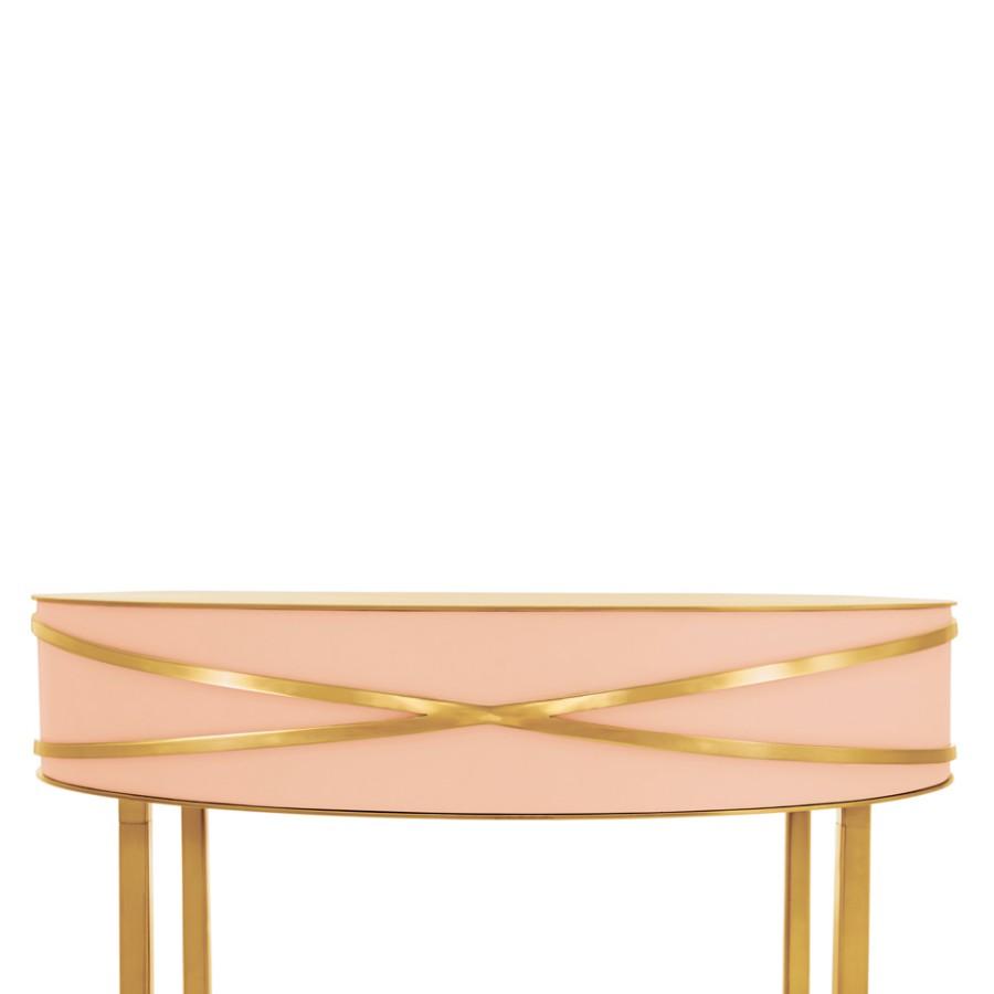 Kobieca konsola Stella Scarlet Splendour różowo-złota