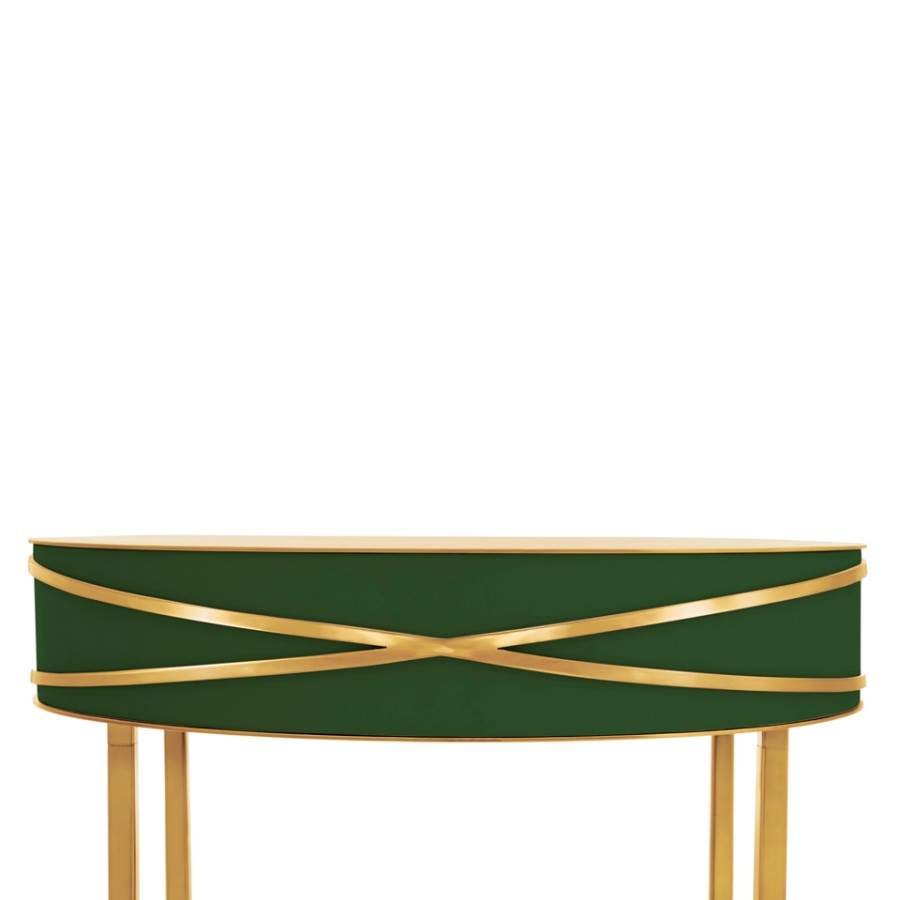 Kobieca konsola Stella Scarlet Splendour zielono-złota