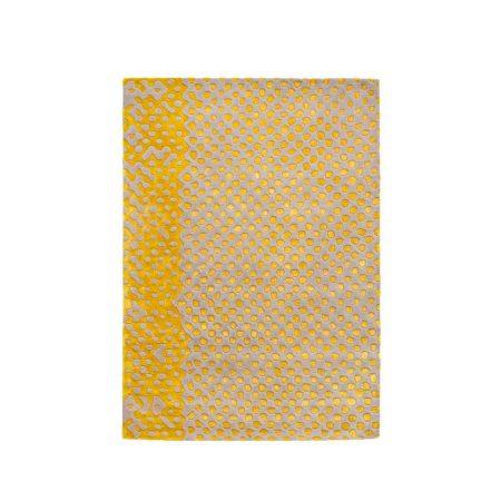 Nowoczesny dywan dwukolorowy Raindrops Scarlet Splendour
