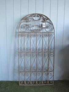 Płot dekoracyjny z żelaza